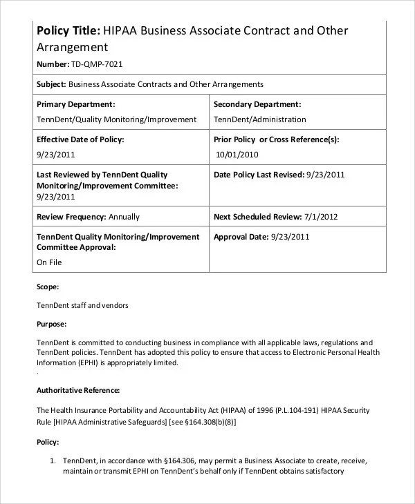 6+ Business Contract Templates - Free Sample, Example Format
