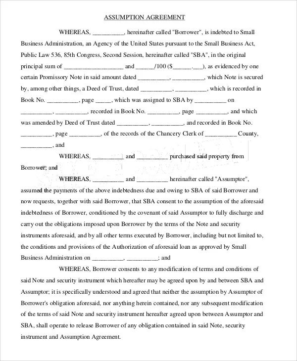 how to write a simple contract agreement
