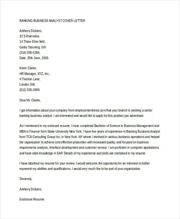 Business Cover Letter -10+ Free Word, PDF Format Download Free - cover letter to company