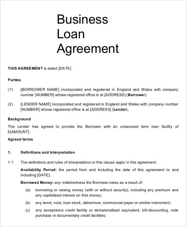 15+ Business Agreement Templates - Word, Pages Free  Premium