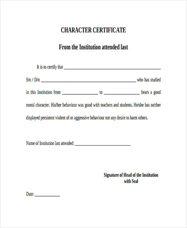 Certificate Formats Templates - 38+ Free Word, Excel, PDF Documents