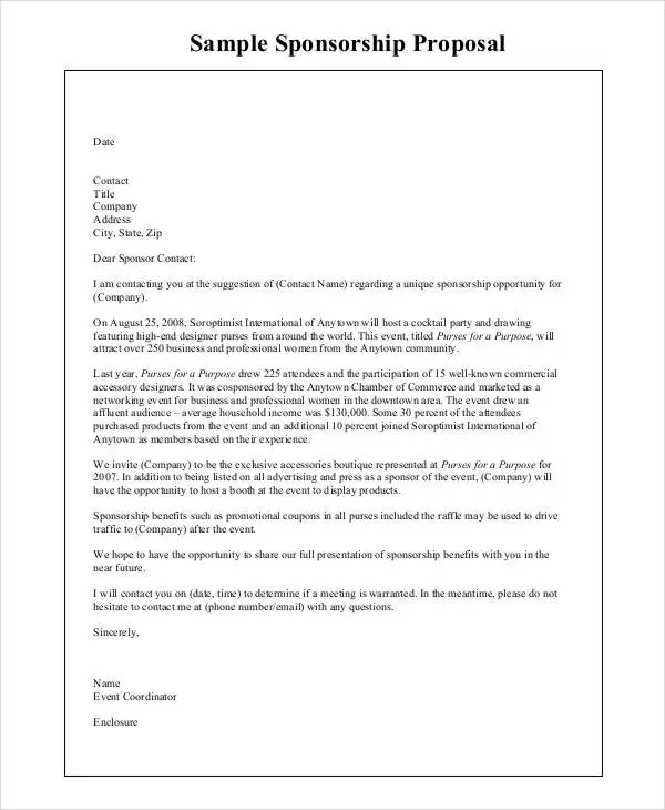 8+ Company Proposal Templates - Word, PDF Free \ Premium Templates - party proposal template