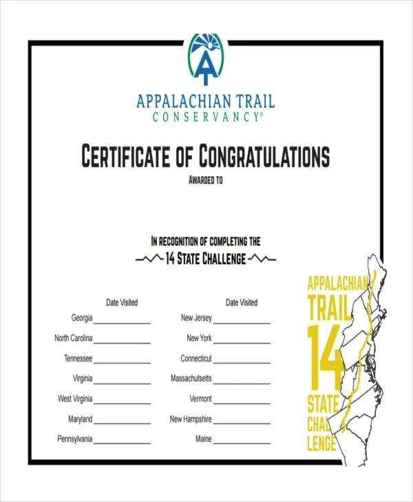 Congratulations Certificate Templates - mandegarinfo - congratulations certificate