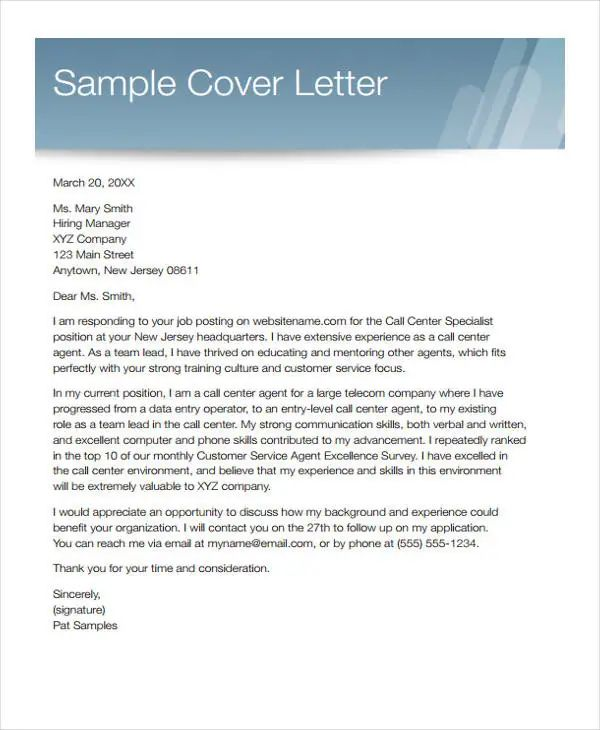 data entry cover letters