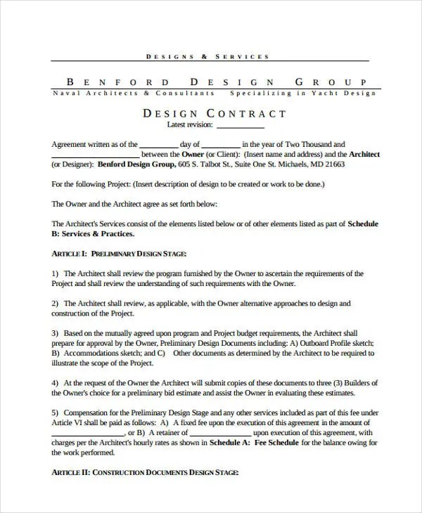 10+ Project Contract Templates - Sample, Examples Free  Premium