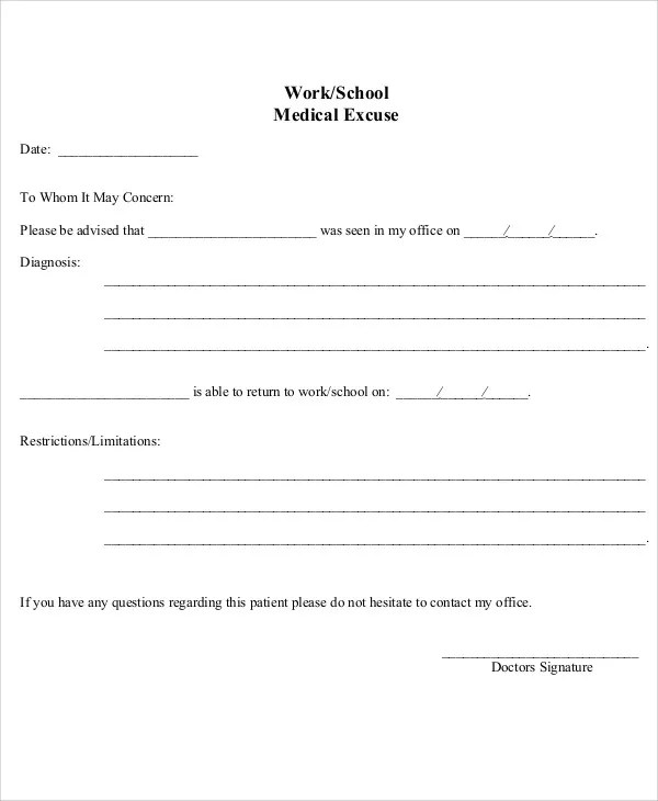 Return To Work Note Https\/\/Www Cosmiclighthouse Com\/ How To Use - medical note