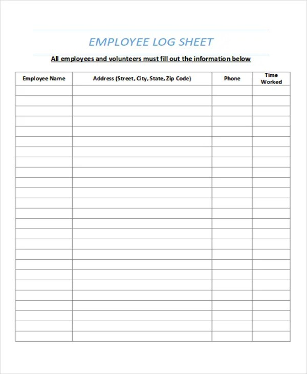time logs for employees - Canasbergdorfbib