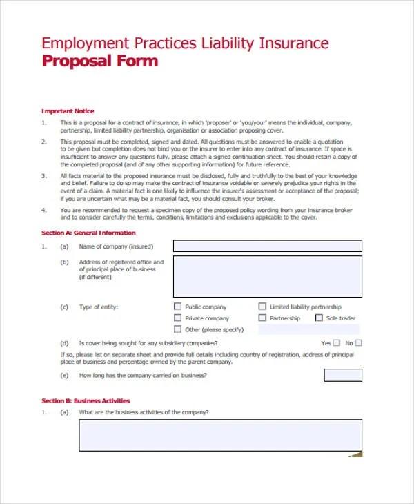 42+ Sample Proposal Templates - Word, PDF, Pages Free  Premium