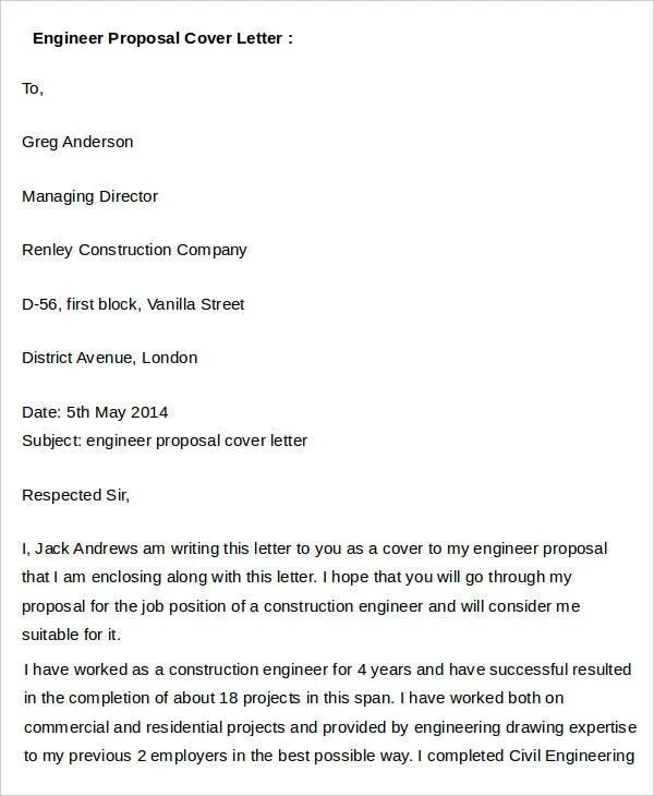 29+ Proposal Letter Templates Free  Premium Templates - job proposal letter