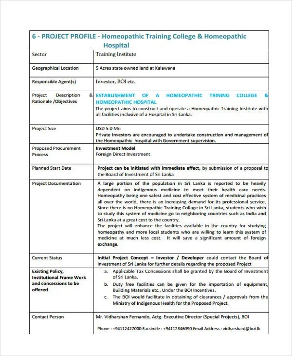 Construction Project Proposal Template - construction project proposal