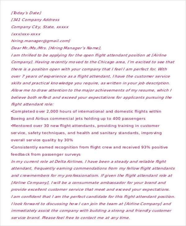 ... Flight Attendant Cover Letter Licensed Social Worker Cover Letter   Animal  Attendant Cover Letter ...