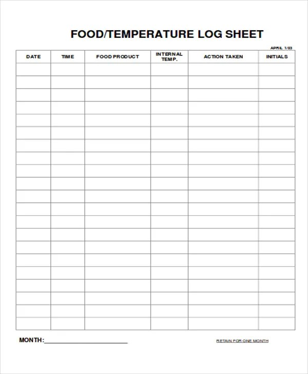 9+ Log Sheet Templates - Free Sample, Example Format Download - attendance sign in sheet