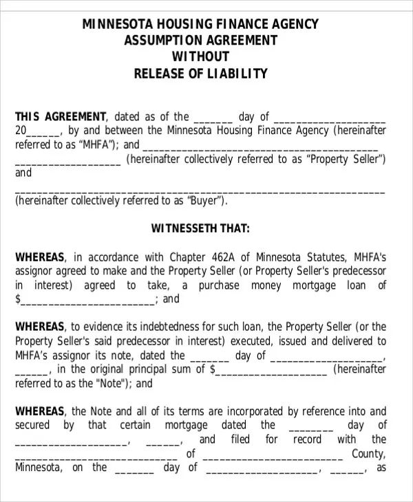 formal contract template