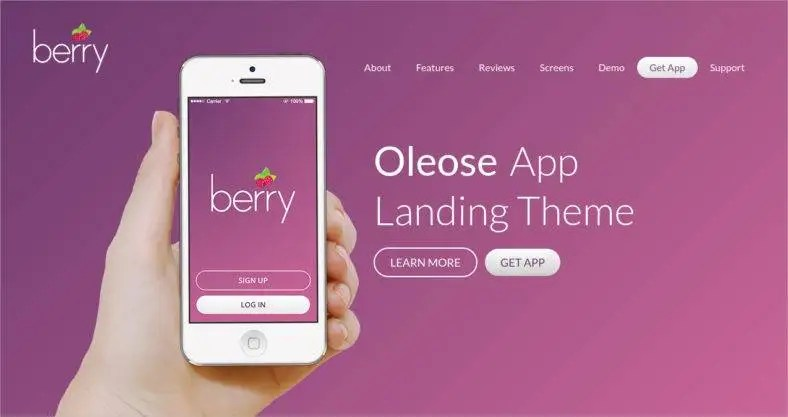 15+ Best App Landing Page Templates - Mobile Apps Landing Page, Web