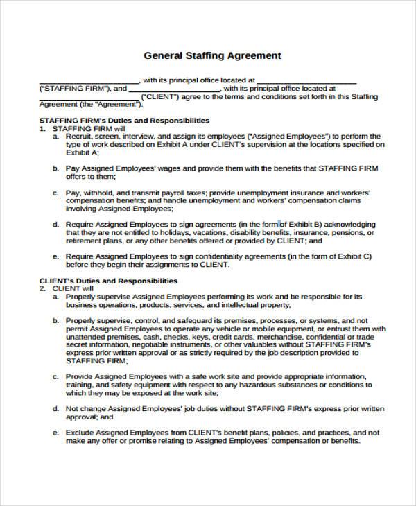 39+ Agreement Templates in PDF Free  Premium Templates