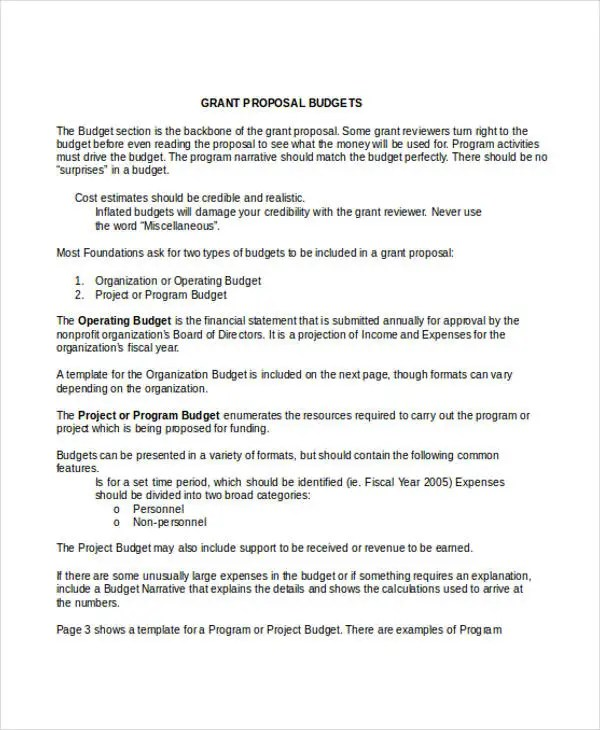 grant proposal template example hitecauto - non profit proposal template