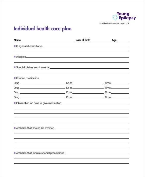 10+ Healthcare Plan Templates - PDF, Word Free  Premium Templates