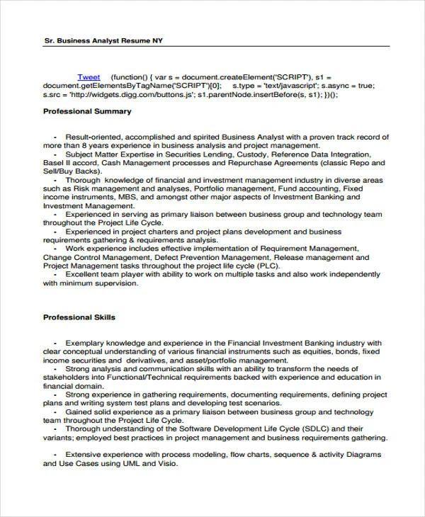 effective resume examples 2017