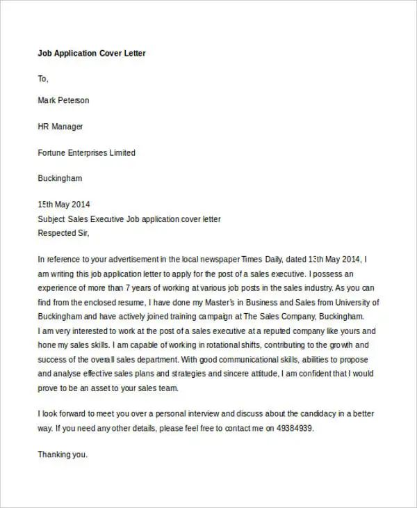 cover letter for switching industries