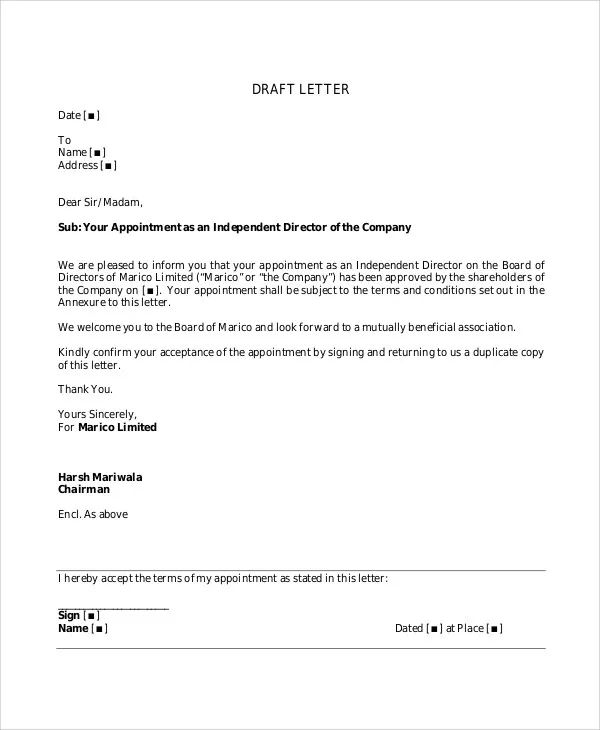 employment letterhead