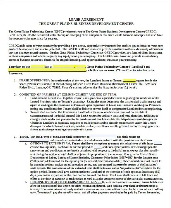 Business Agreement Templates - 10 Free Word, PDF Format Download