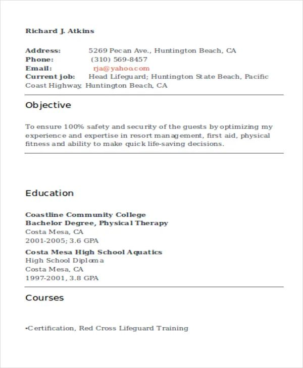 how to make a resume with no job experience sample