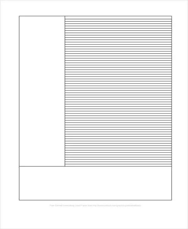 10 Lined Paper Templates - Free Sample, Example, Format Download - sample lined paper