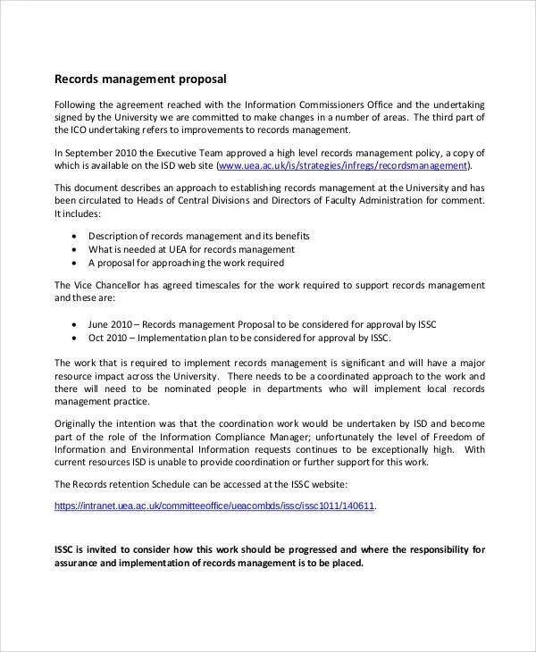 Management Proposal Templates - 6+ Free Word, PDF Format Download - policy proposal template