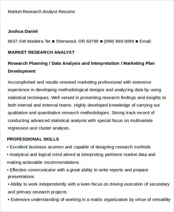 business analyst sample resume dice 5 things to learn about computer science degrees dice news marketing