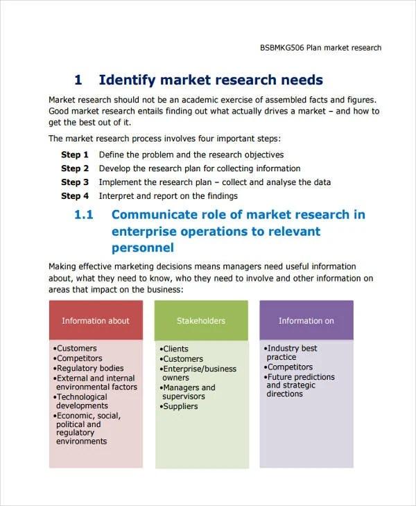 Research Plan Templates - 8 Free Word, PDF Format Download Free
