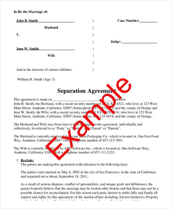 32+ Basic Contract Templates Free  Premium Templates - marriage contract template