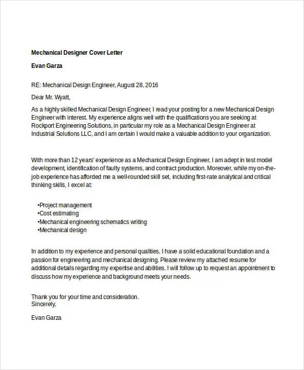 ... Designer Cover Letter   9+ Free Word, PDF Format Download Free   Apparel  Designer ...