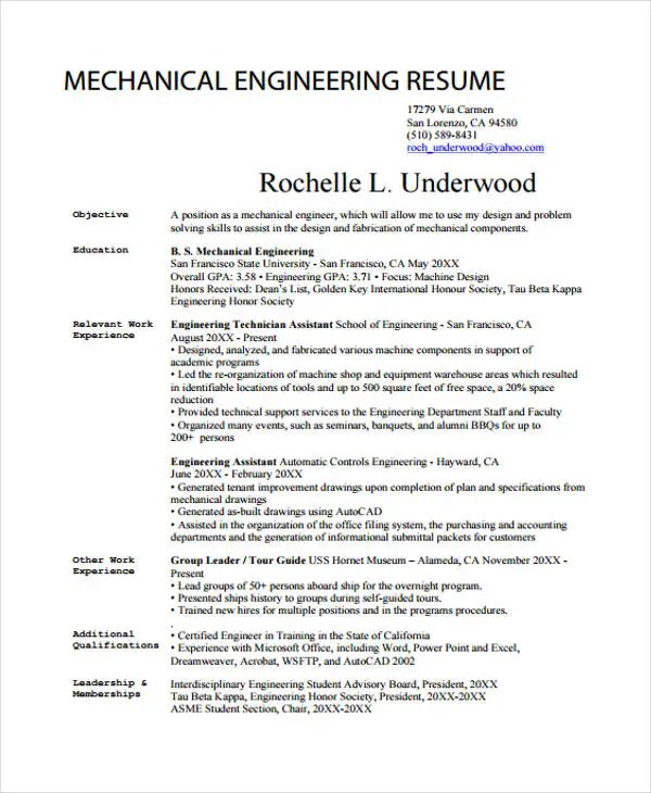 guide resumes
