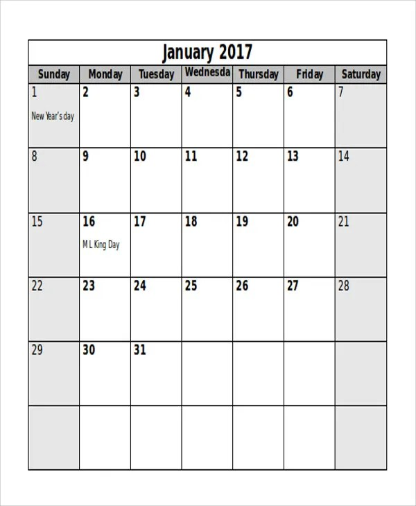 5+ Editorial Calendar Templates - Free Sample, Example Format - annual calendar template