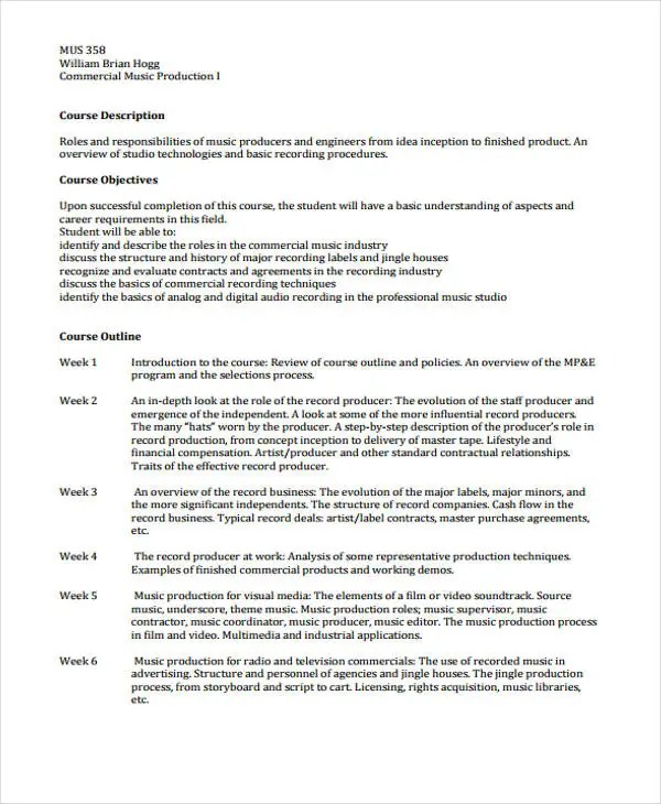 8+ Music Business Proposal Templates - Free Word, PDF Format