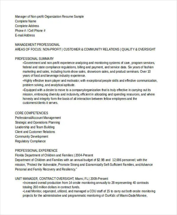 8+ Office Manager Resume Templates - PDF, DOC Free  Premium Templates - office resume