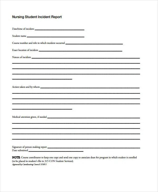 8+ Nursing Report Templates - Free PDF Format Download Free