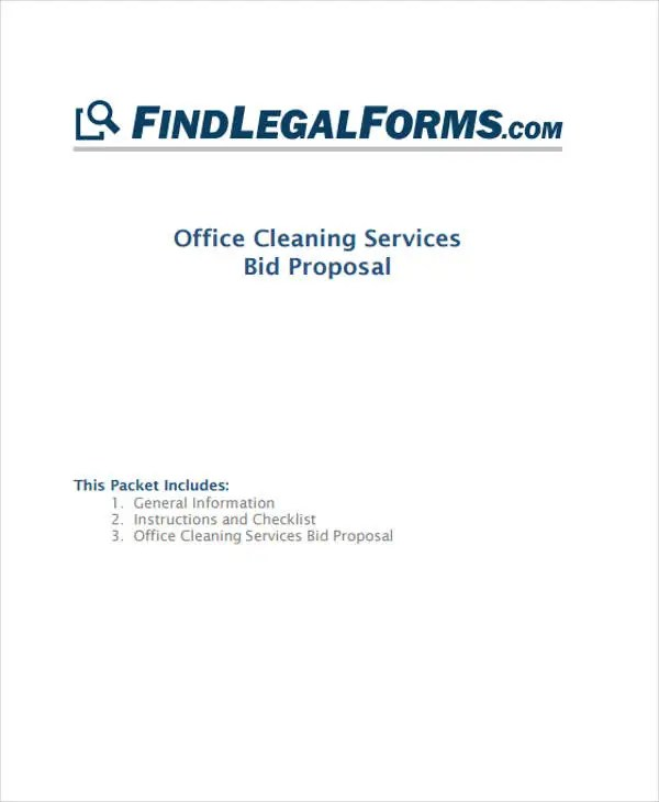 5+ Cleaning Business Proposal Templates - Word, PDF Free  Premium