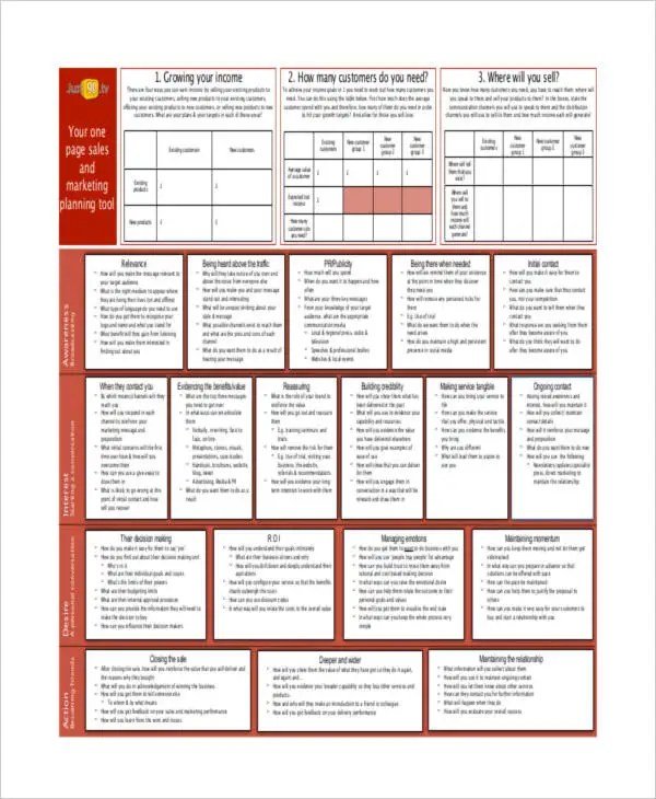 38 Plan Formats Free  Premium Templates