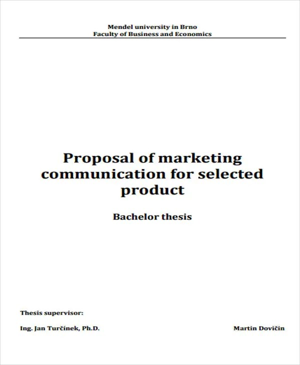9 Product Business Proposal Templates - Sample, Example Free
