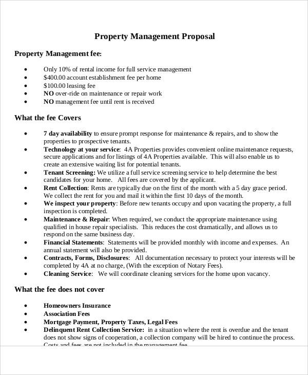 9+ Management Proposal Templates - Word, PDF Free  Premium Templates