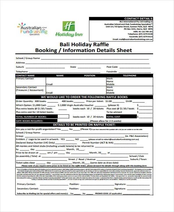 Sample Raffle Sheets - sample silent auction bid sheet