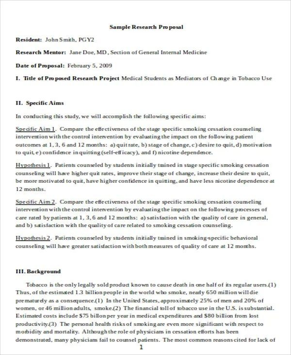 8+ Medical Proposal Templates - Free Sample, Example Format Download