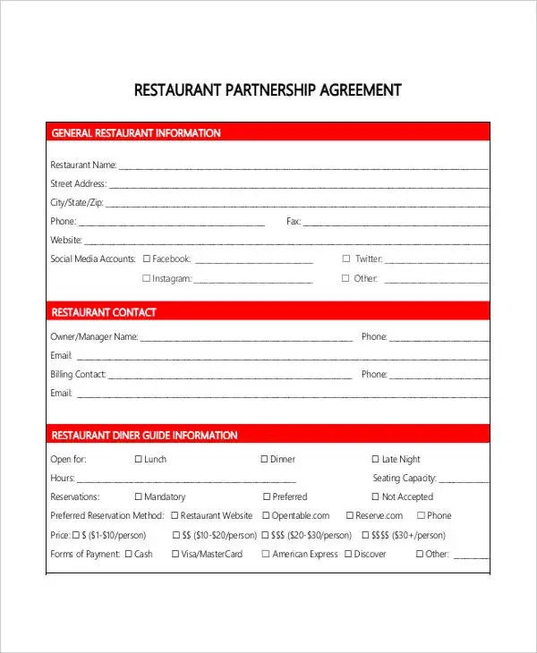 Verbal Partnership Agreement Image collections - Agreement Letter Format