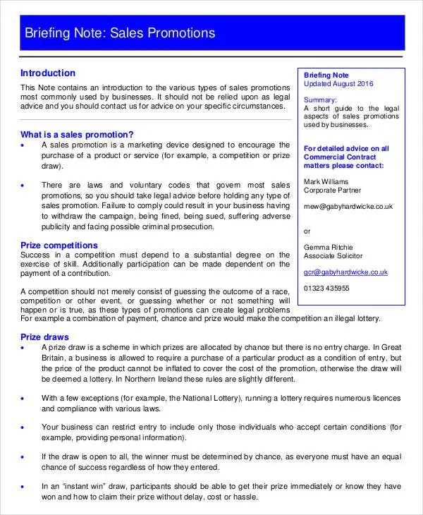 Briefing Note Template stunning briefing note template contemporary