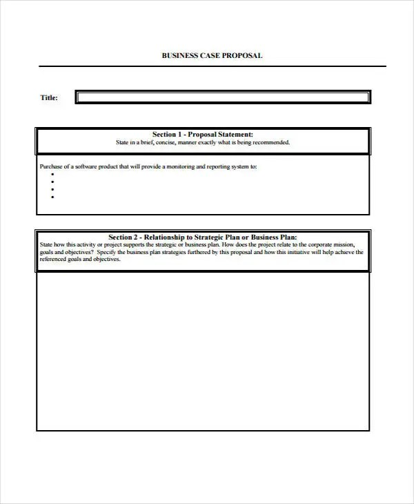 42+ Simple Proposal Templates Free \ Premium Templates - purchase proposal sample