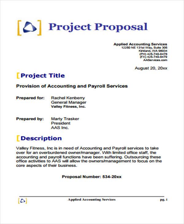 39+ Free Proposal Templates Free  Premium Templates