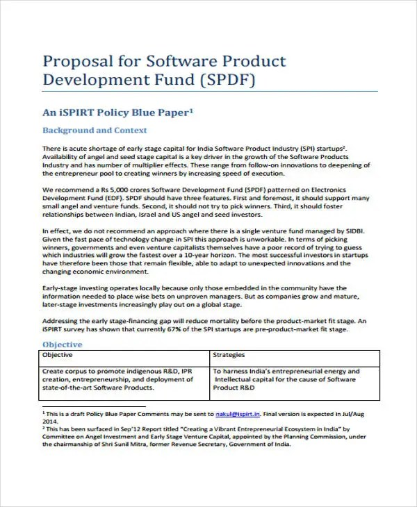 16+ Product Proposal Templates - Free Word, PDF Documents Free