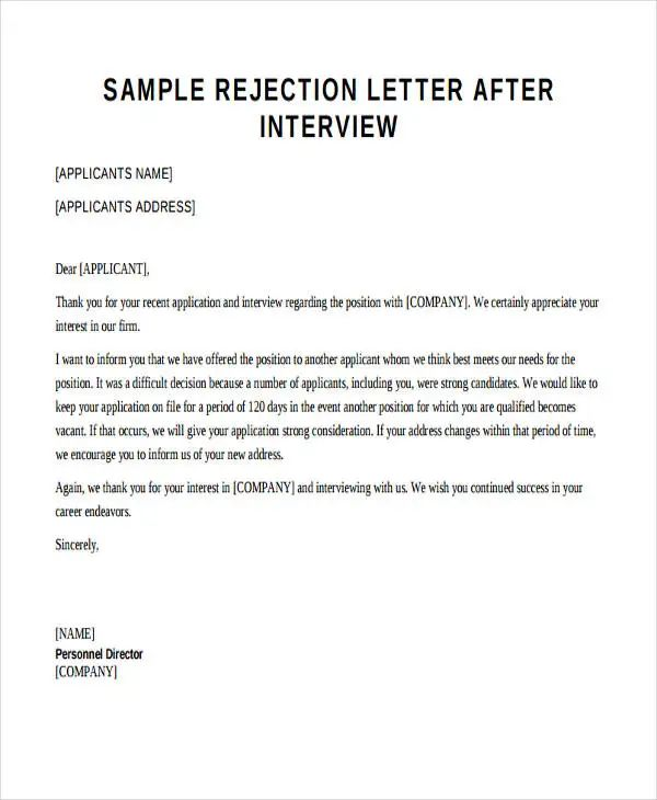download free application letters