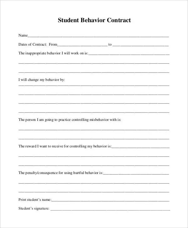 42+ Basic Contract Templates - Google Docs, Word, Apple Pages Free